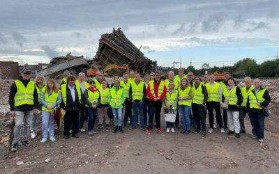 SPD-Fraktionen besichtigen ehemalige Steagfläche in Lippolthausen